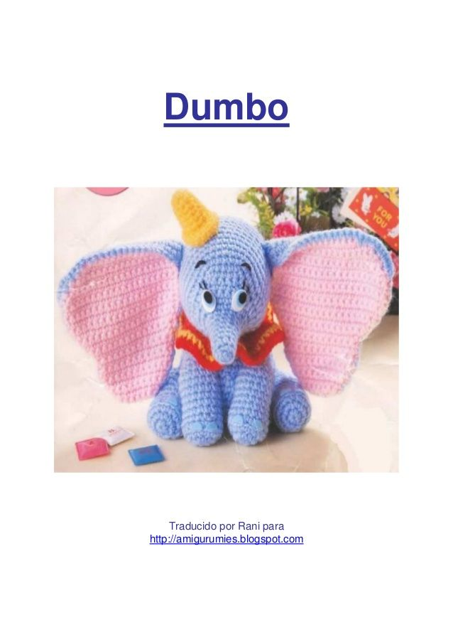 Crochet Elephant Amigurumi Free Pattern with Video | Crochet ... | 903x638