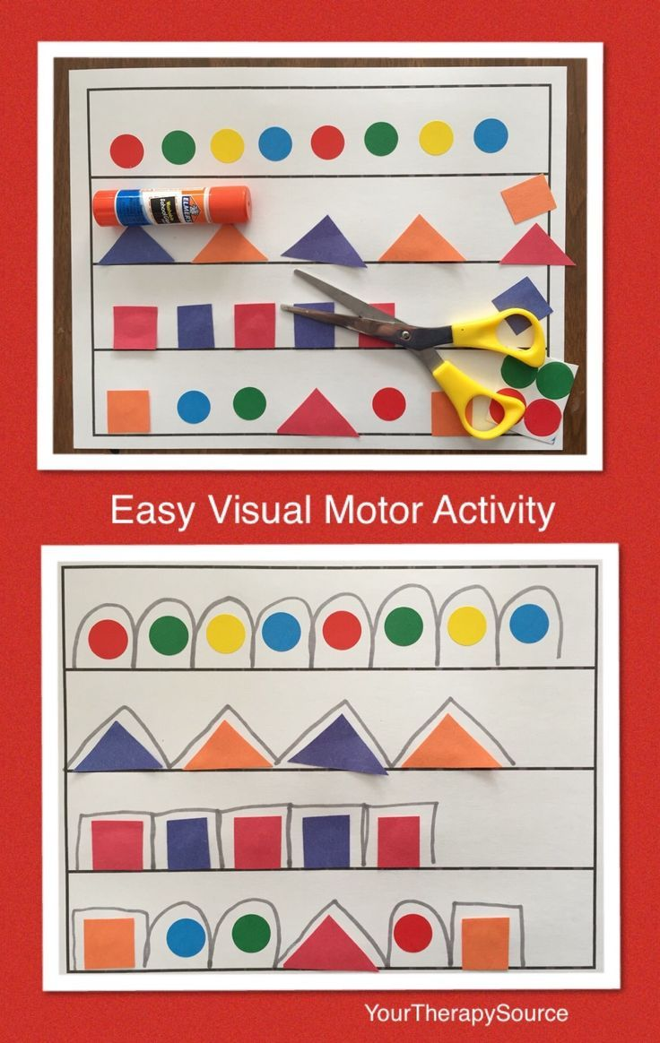 Easy visual motor activity download the template at http yourtherapysource com