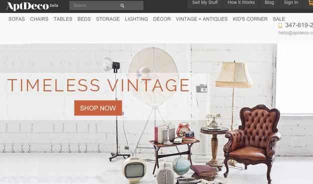 Delightful AptDeco | 9 Websites To Buy And Sell Used Furniture That Arenu0027t Craigslist