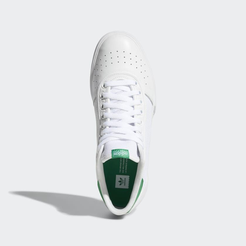 competitive price 648cb 101fe Lucas Premiere Mid Shoes Cloud White  Cloud White  Green B22742 White  Clouds, Adidas