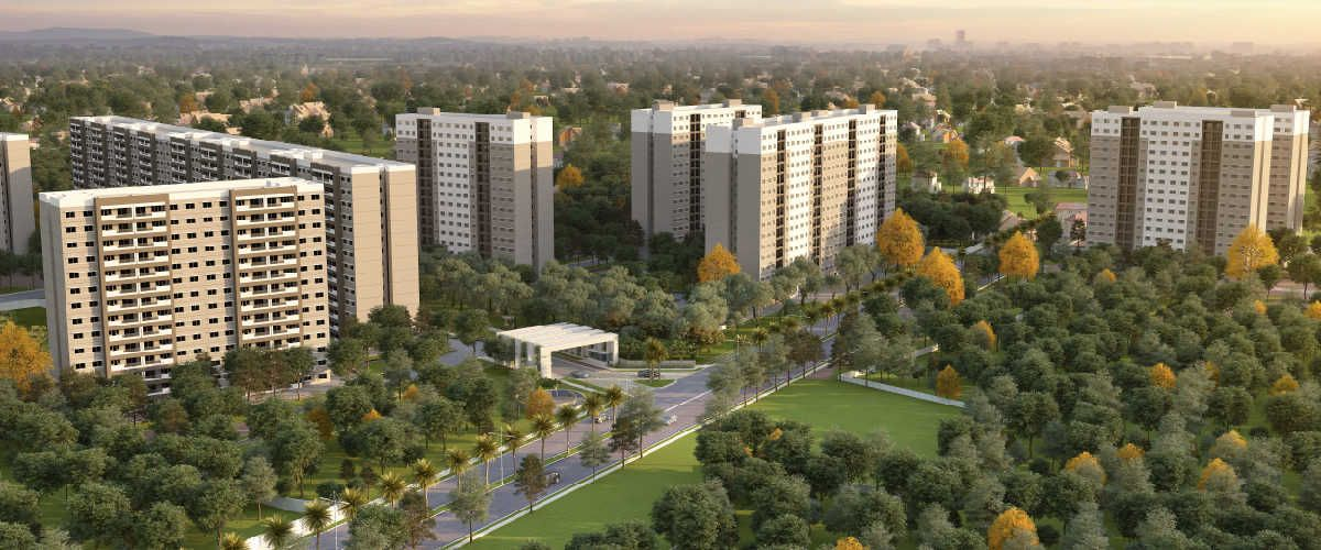 Sobha Dream Acres Acre, Residential complex, Open space