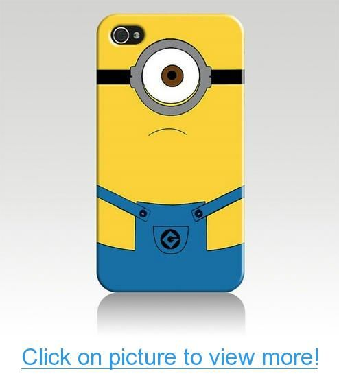 Despicable Me Hard Case Cover Skin for Iphone 4 4s Iphone4 At$t Sprint Verizon Retail Packing