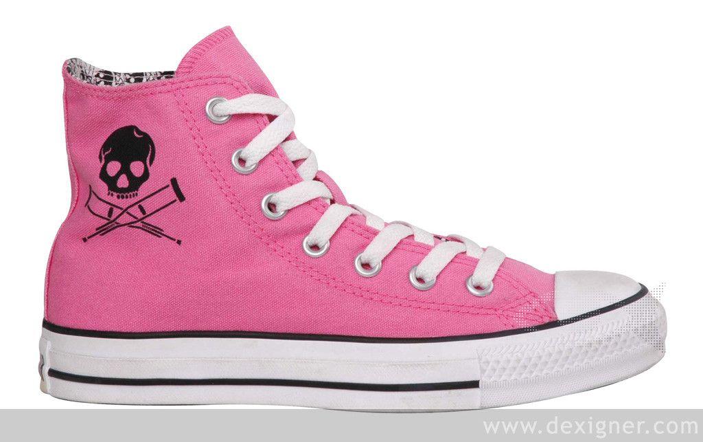 be8375e332b11b Pink Jackass hightop converse!!!!!!!  O  D i want these  sooooooooooooooooooooooooooooooooooooooooooo bad