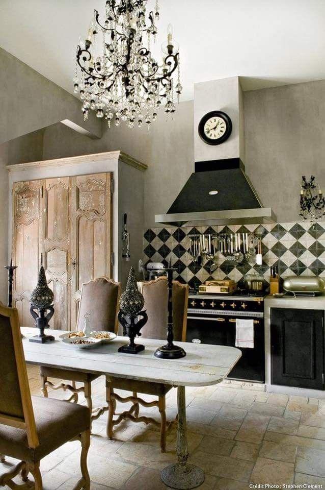Pin di Marita Enell su bord | Arredamento casa country ...