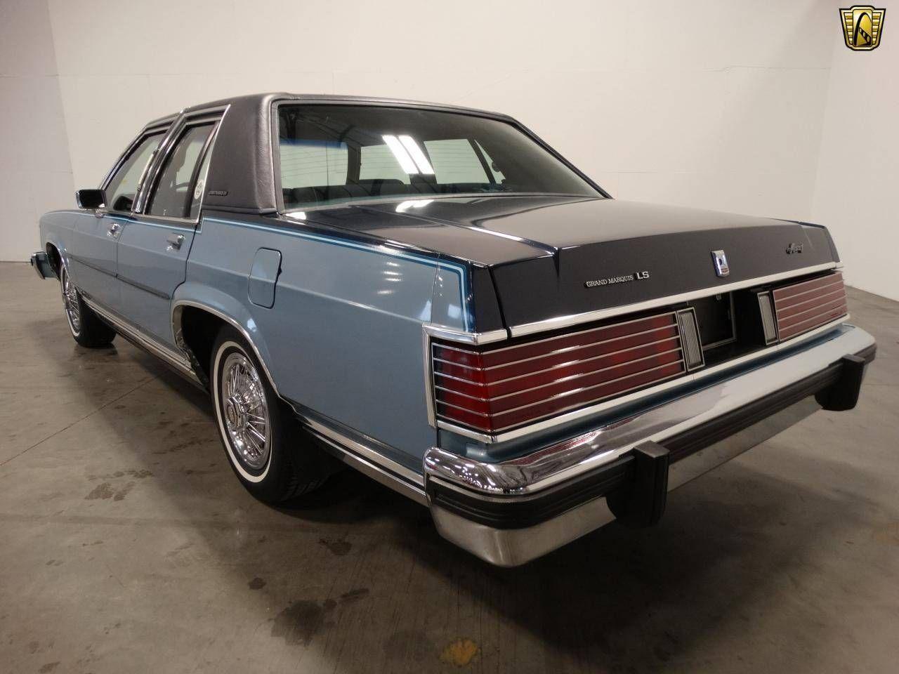 1985 Mercury Grand Marquis Sedan Grand Marquis Mercury Marquis Ford Motor Company