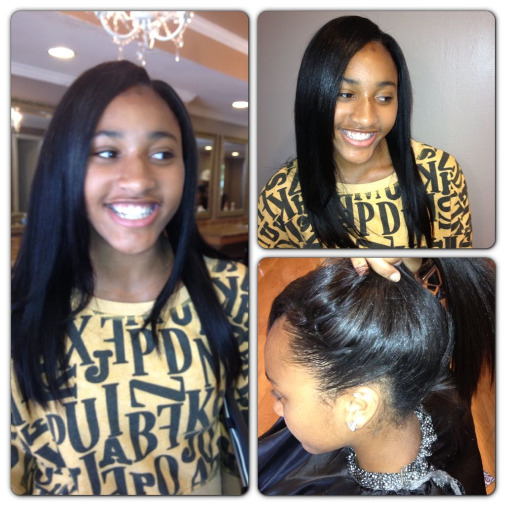 Seamless Sew In Hair Styles One Hair Stylists