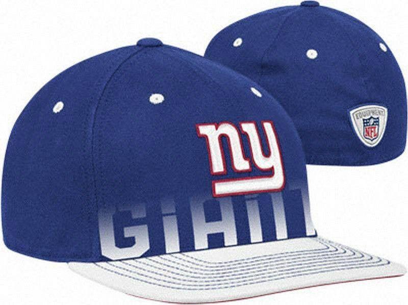 New York Giants Flatbrim Flexfit hat Reebok new with stickers 2 in 1 Visor G-Men