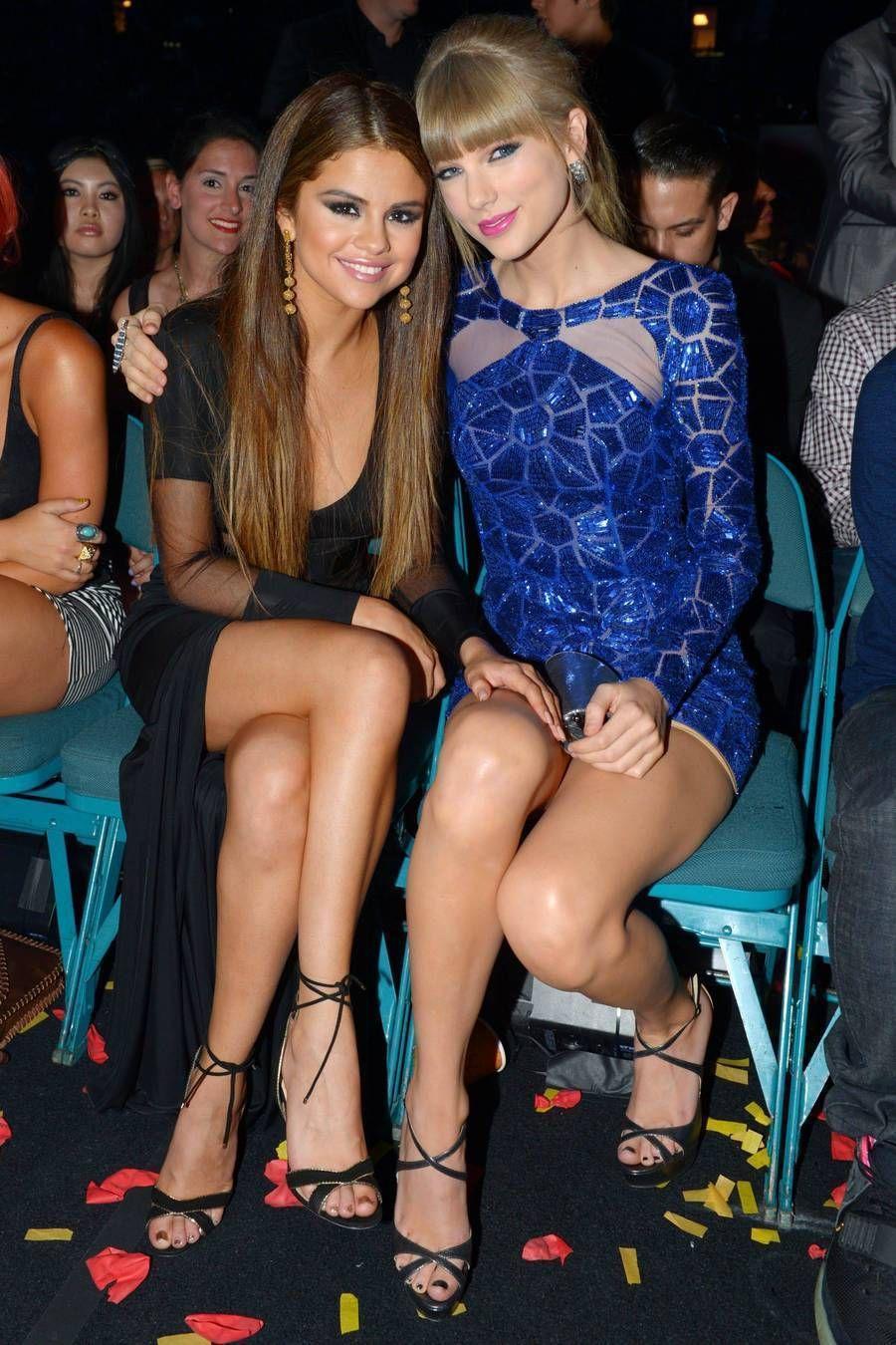 Selena Gomez & Taylor Swift Legs