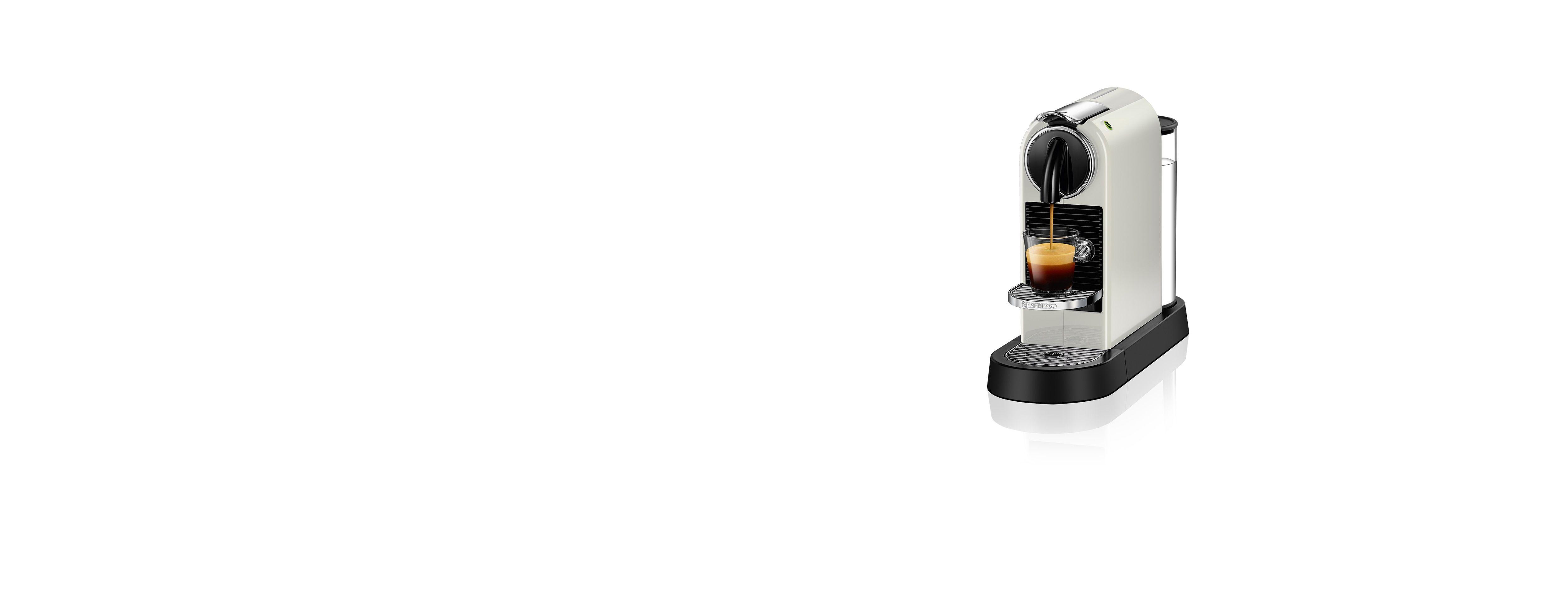 CitiZ White Original Espresso Machine Nespresso USA