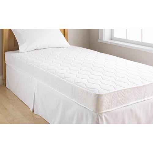 Mainstays 6 Innerspring Coil Mattress Walmart Com Bunk Bed Mattress Mattress Comfort Mattress