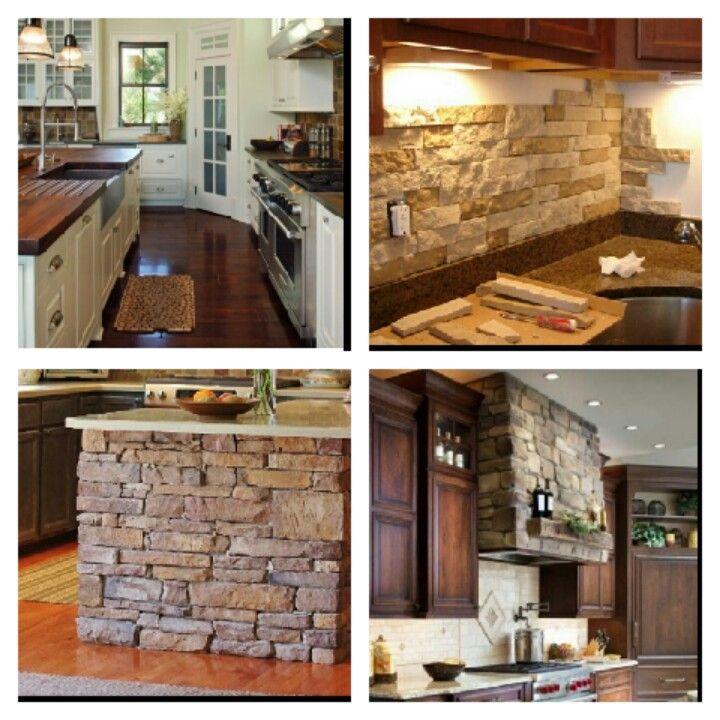 Stone Island Hood And Backsplash All Matching And Cream Cabinets With Dark Spps Floors And