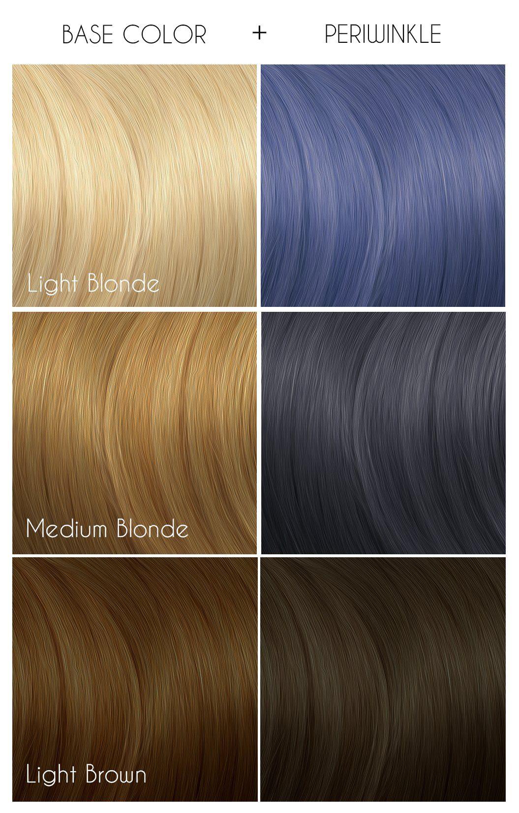 Periwinkle Arctic Fox Hair Color Arctic Fox Hair Dye Arctic Fox Dye