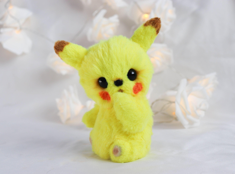Custom order baby pikachu plush commission pokemon ooak toy