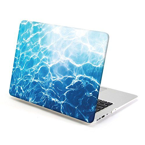 Macbook Air 13 Case Gmyle Hard Case Print Frosted For Macbook Air 13 Ocean Pattern Glossy Hard She Macbook Hard Case Macbook Air 13 Case Marble Macbook Case