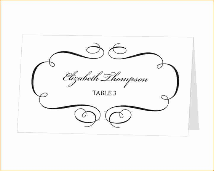 Place Card Template Free Download Fresh Place Cards Template Word Download Beautiful Temp In 2020 Place Card Template Free Place Card Template Card Templates Printable