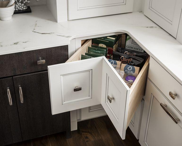 Medallion Cabinets Corner Drawer Base Corner Drawers Corner Kitchen Cabinet Medallion Cabinets