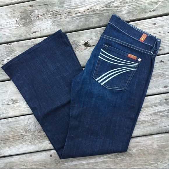 NWOT 7 For All Mankind Jeans | Flare, Dojo and Shorts