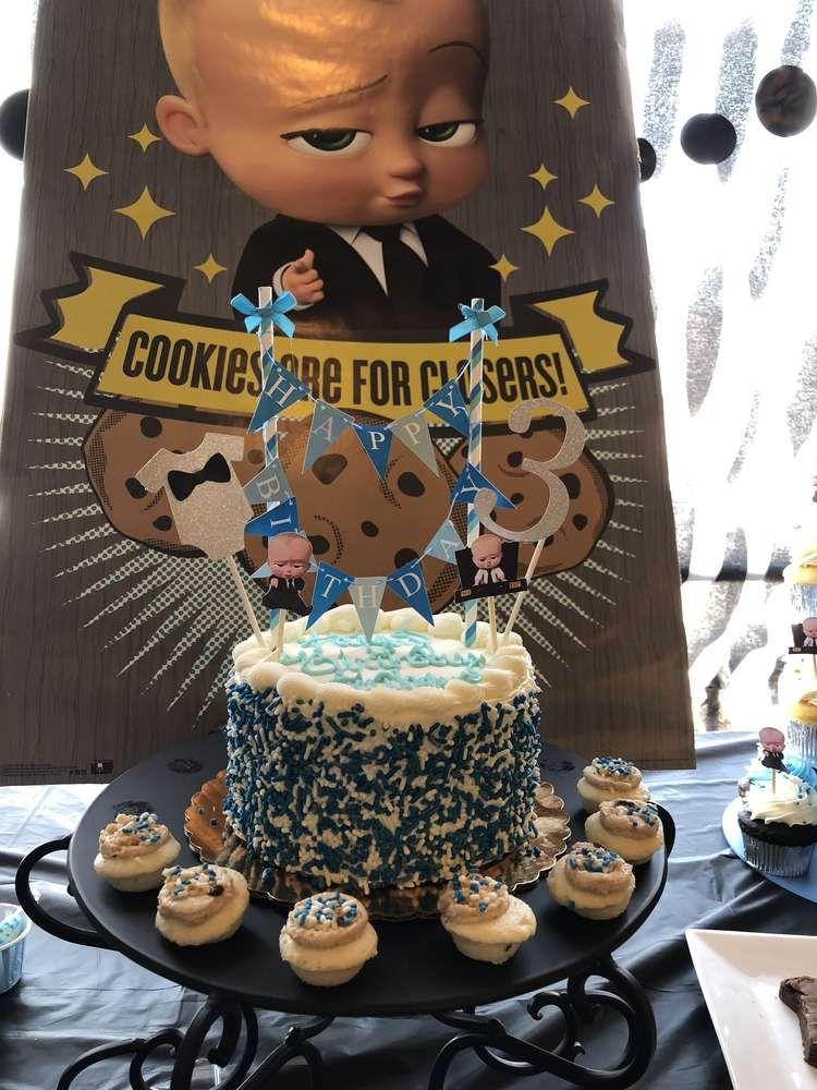 Boss Baby Birthday Party Ideas Baby Birthday Themes Boss Baby
