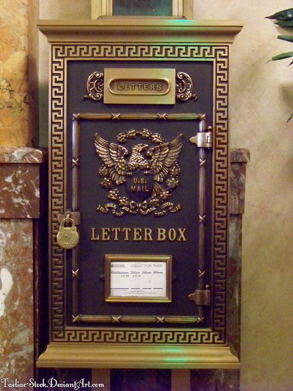 VINTAGE MAIL box Vintage US Mailbox  02 by taeliac-stock YOU - best of canada post letter address format