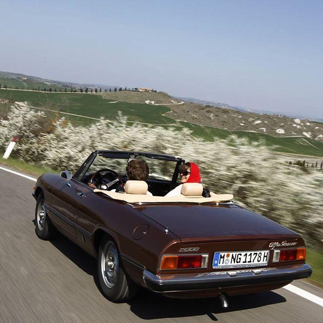 Joy Of Ride In An Alfa Romeo Spider 2000 Veloce.