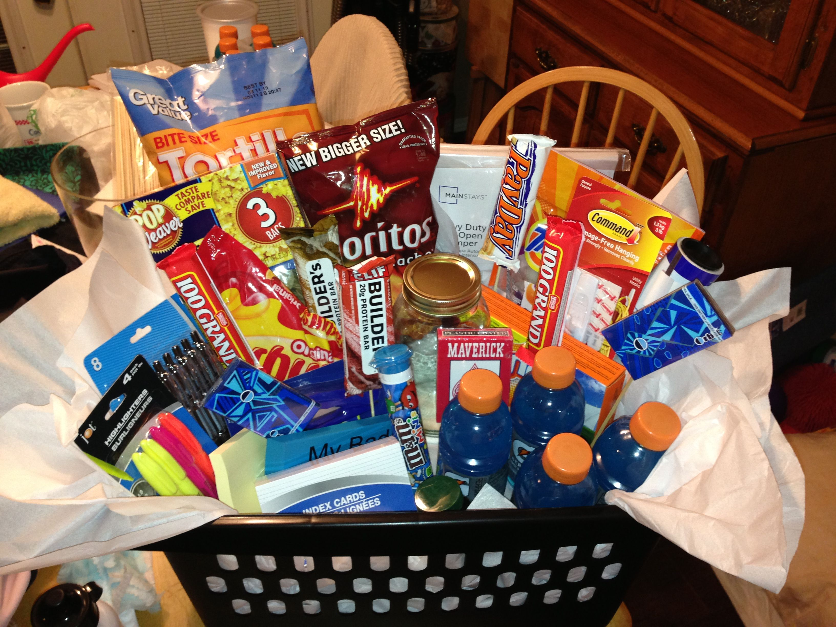 Graduation gift: College Survival Kit :) (With images ...