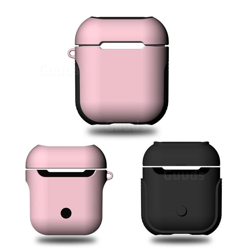 2fecd95fc53 Bink 2 in 1 Anti-fall Silicone Case for Apple AirPods - Pink #guuds #apple # airpods #appleairpods #case #cover #silicone #rubber #shockproof  #airpodscase # ...