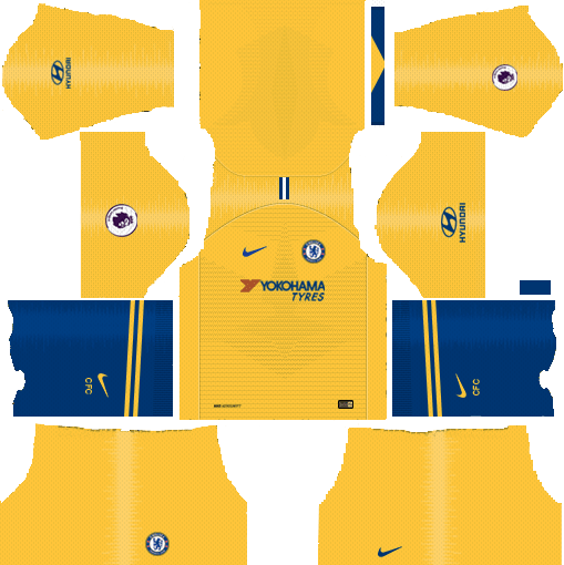 the best attitude e1e17 0da81 Dream League Soccer Kits Chelsea FC Away 2018-19 URL 512x512 ...