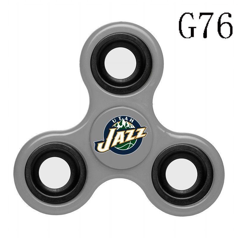 BB029 Utah Jazz Blue Fidget Spinner