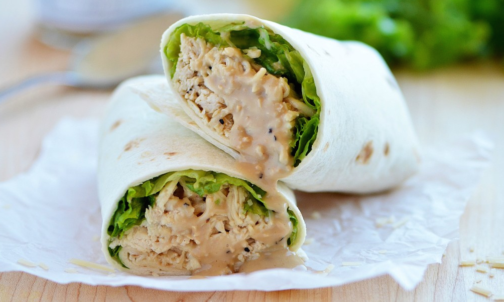 Wrap Recipes - Ideas for Sandwich Wraps—Delish.com