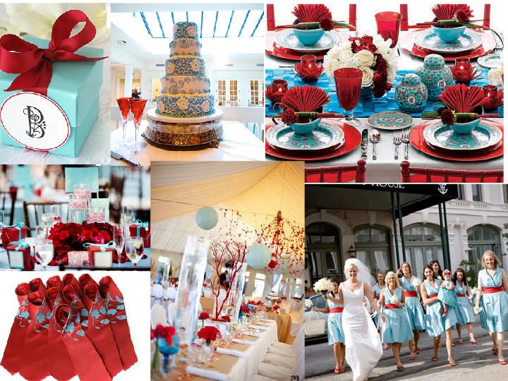 turquoise dresses w/red flowers | Wedding Ideas | Pinterest | Red ...