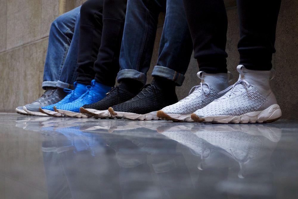 Nike Air Footscape gratuitoyal / Gris