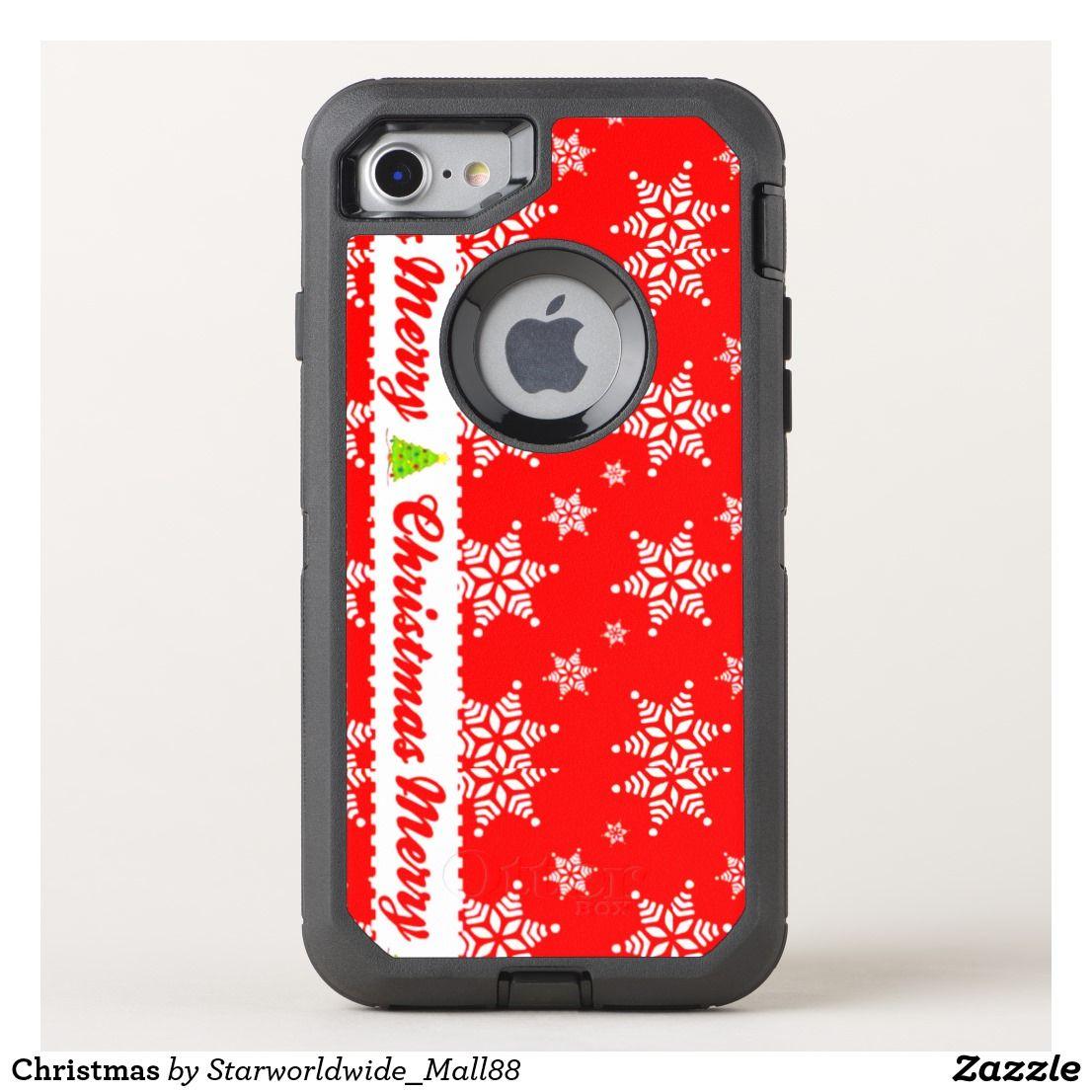 pretty nice d883f 0ce4e Christmas OtterBox iPhone Case | Zazzle.com | OtterBox Defender ...