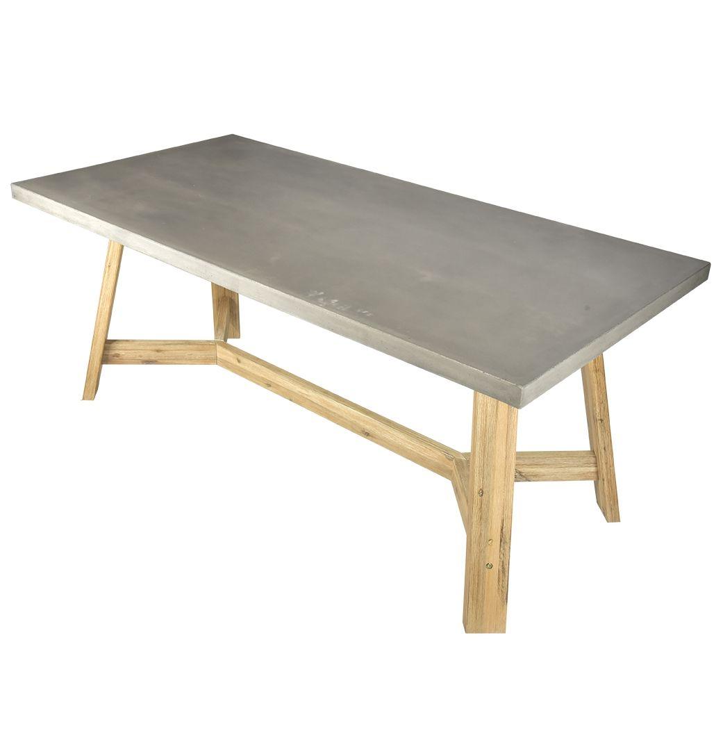 Ajax Concrete Dining Table From Matt Blatt.