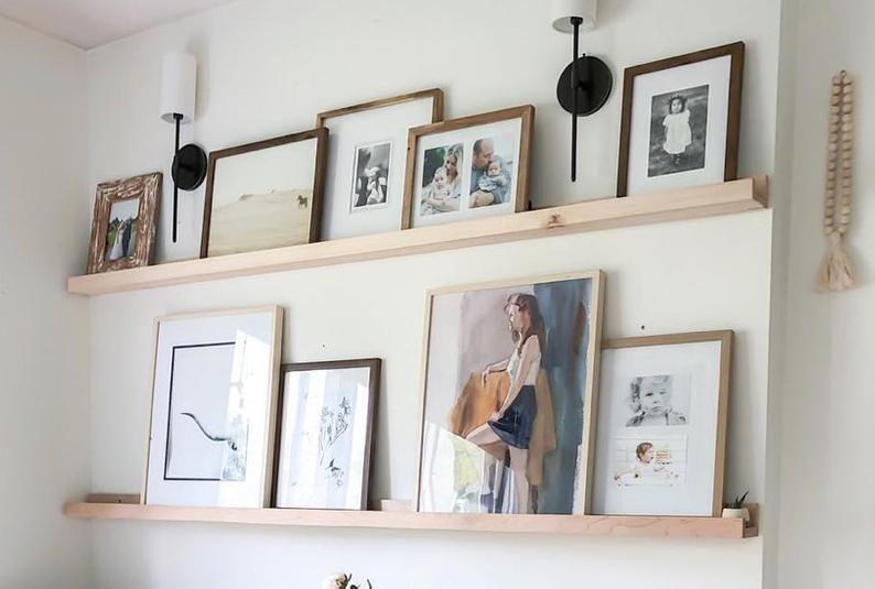 Picture Ledge Floating Shelf