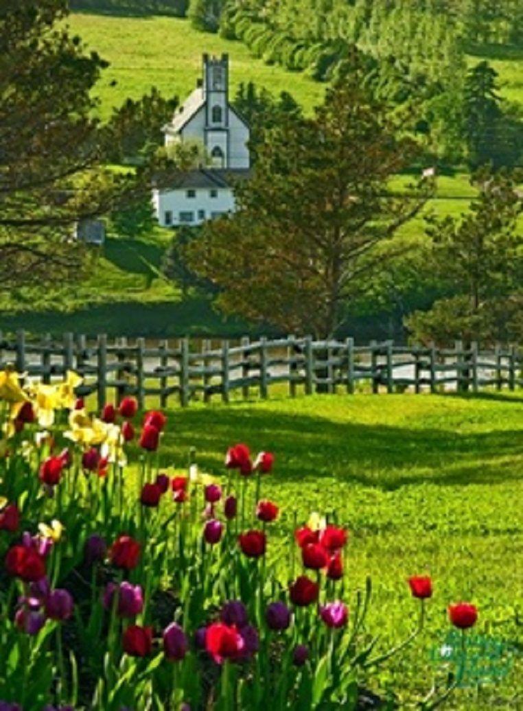 Prince Edward Island, Canada Anne Shirley.  Need I say more?