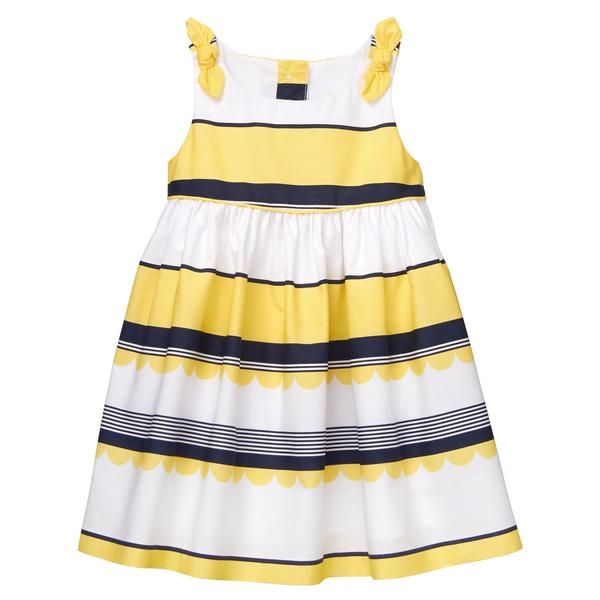5eb8c02337bb Striped Dress | family pictures | Dresses, Toddler outfits, Baby ...