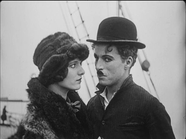 Image result for hale and chaplin in the gold rush