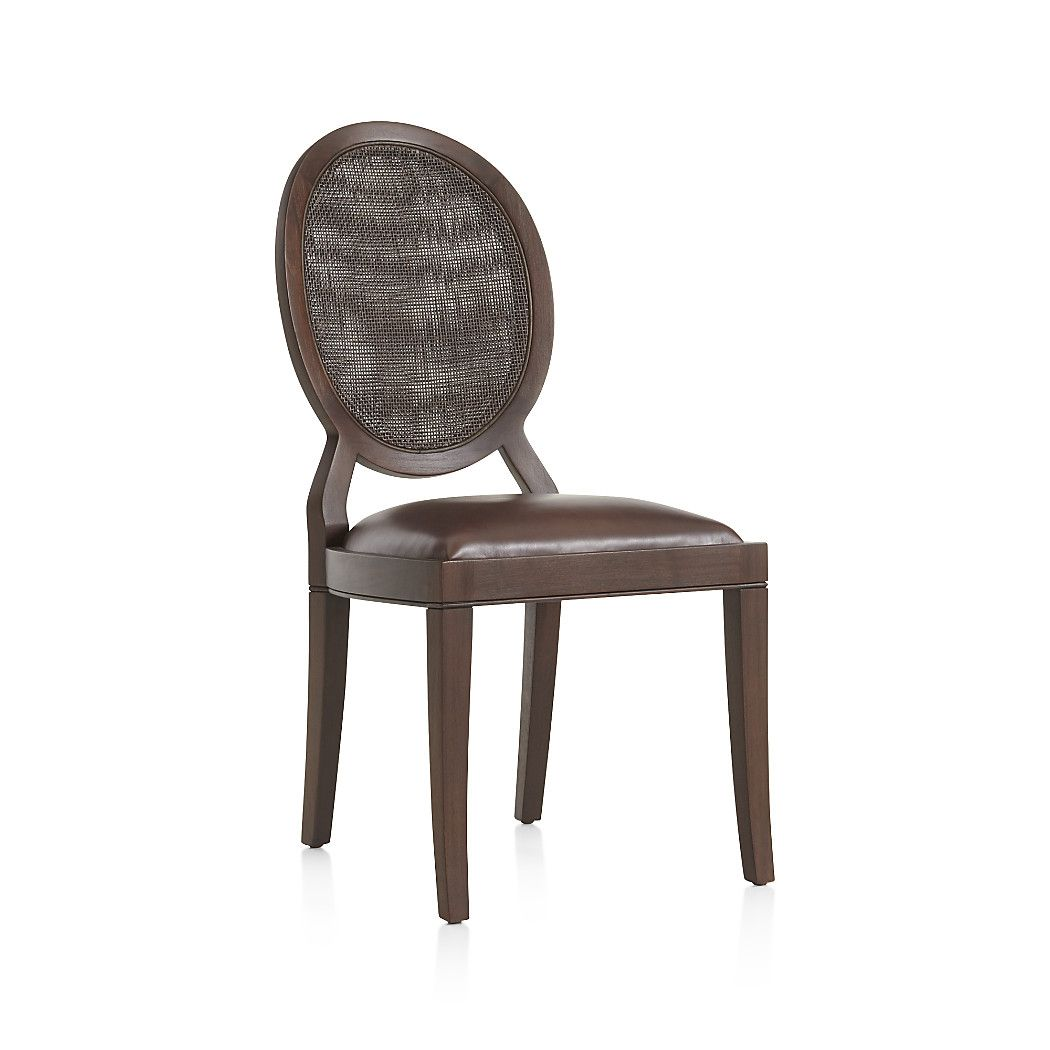 crate barrel furniture reviewslowe ivory leather. Shop Winnetka Dark Mahogany Dining Side Chair. The Chair Is Crate Barrel Furniture Reviewslowe Ivory Leather