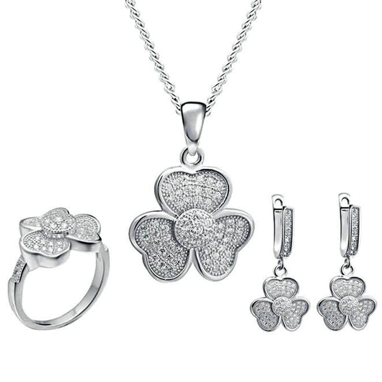 Men Women Stainless Steel Pendant Necklace Cross Double Rings Gnzoe Jewelry