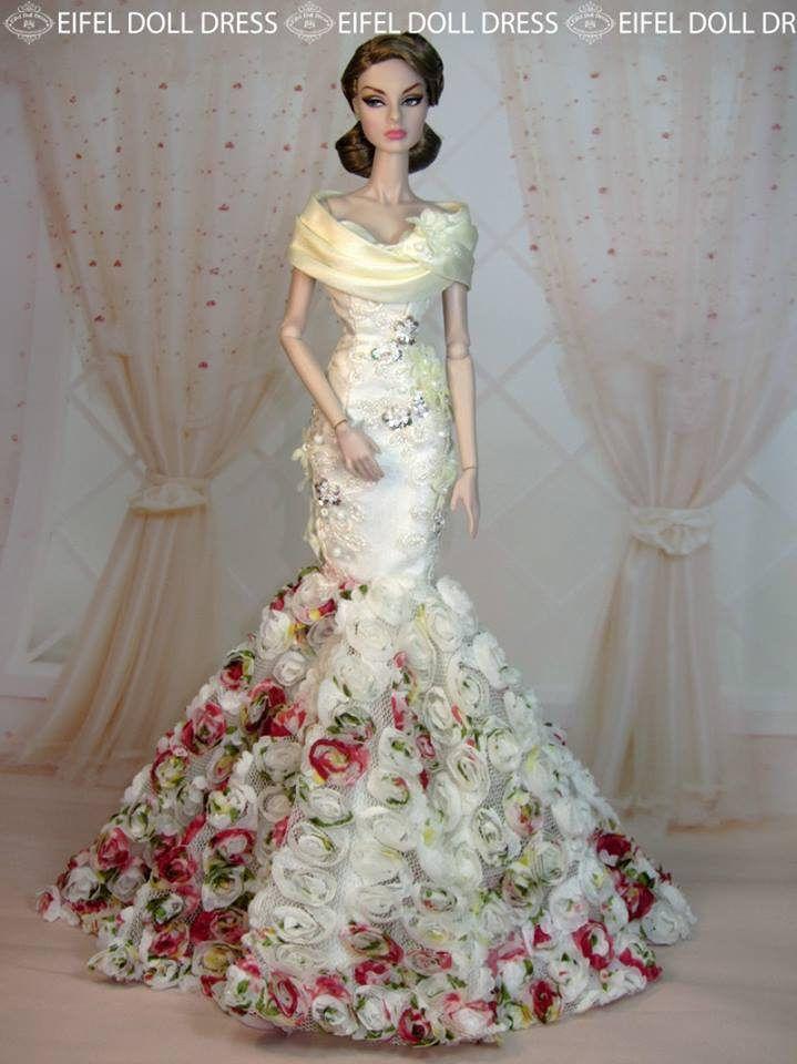 Evening Dress for sell EFDD | Puppen, Barbie und Barbie kleider