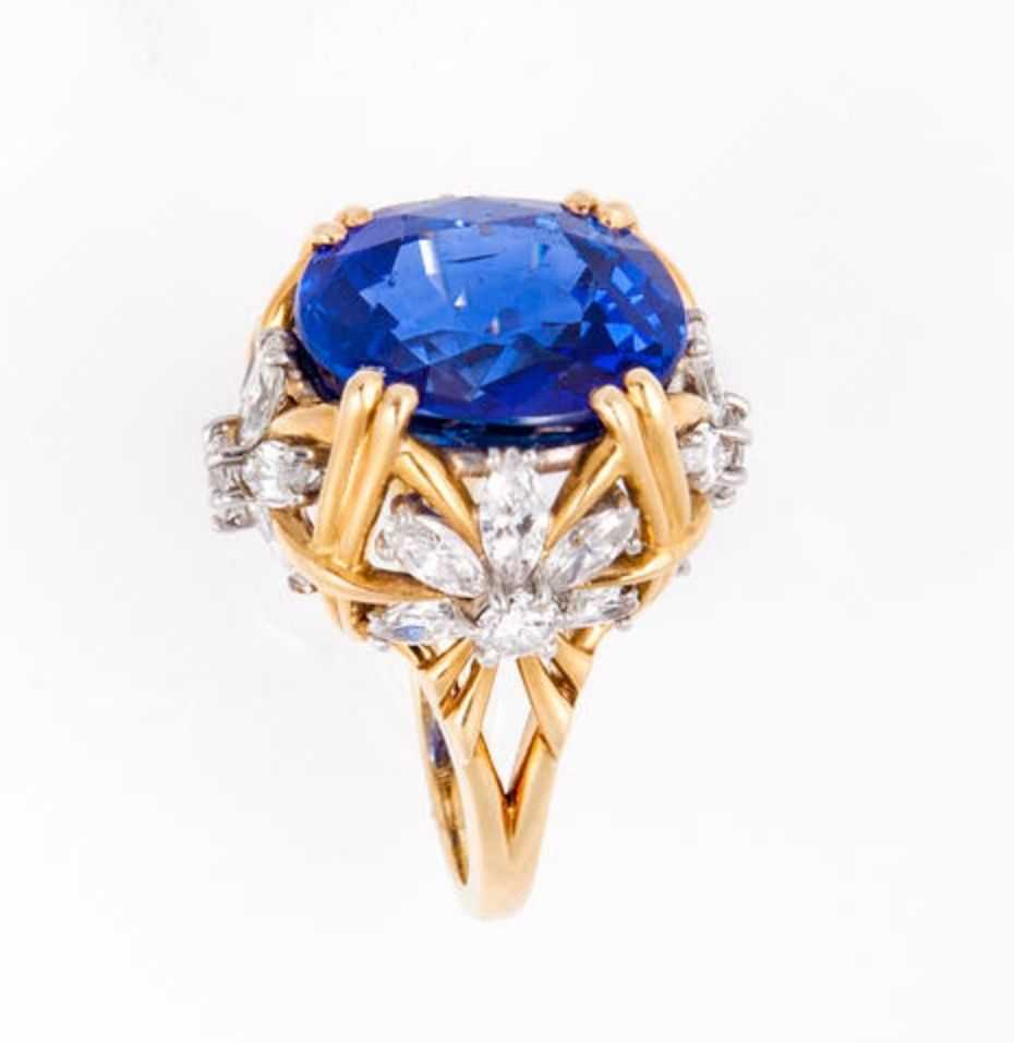 A Sapphire And Diamond Ring Jean Schlumberger Tiffany