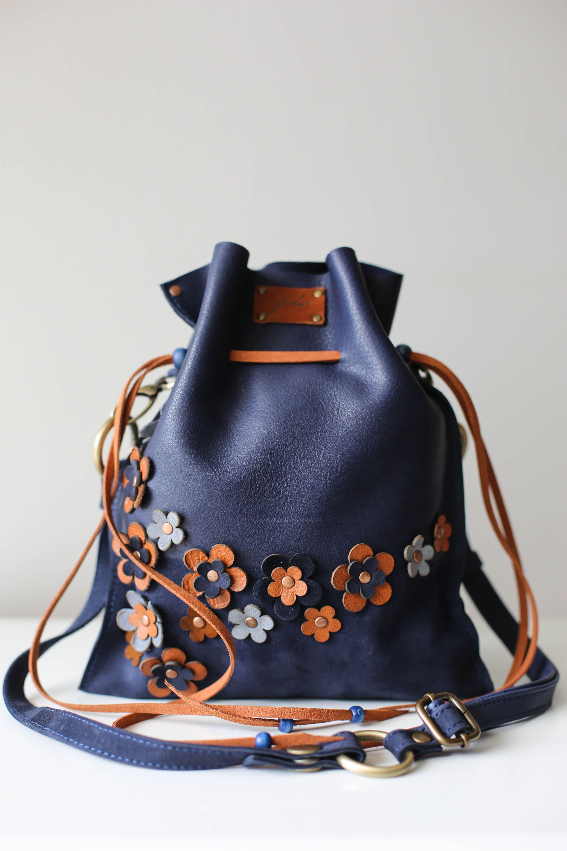 66c24be34b2d Designer Handbag, Bucket Bag, Small Leather Purse, Crossbody Bag for ...