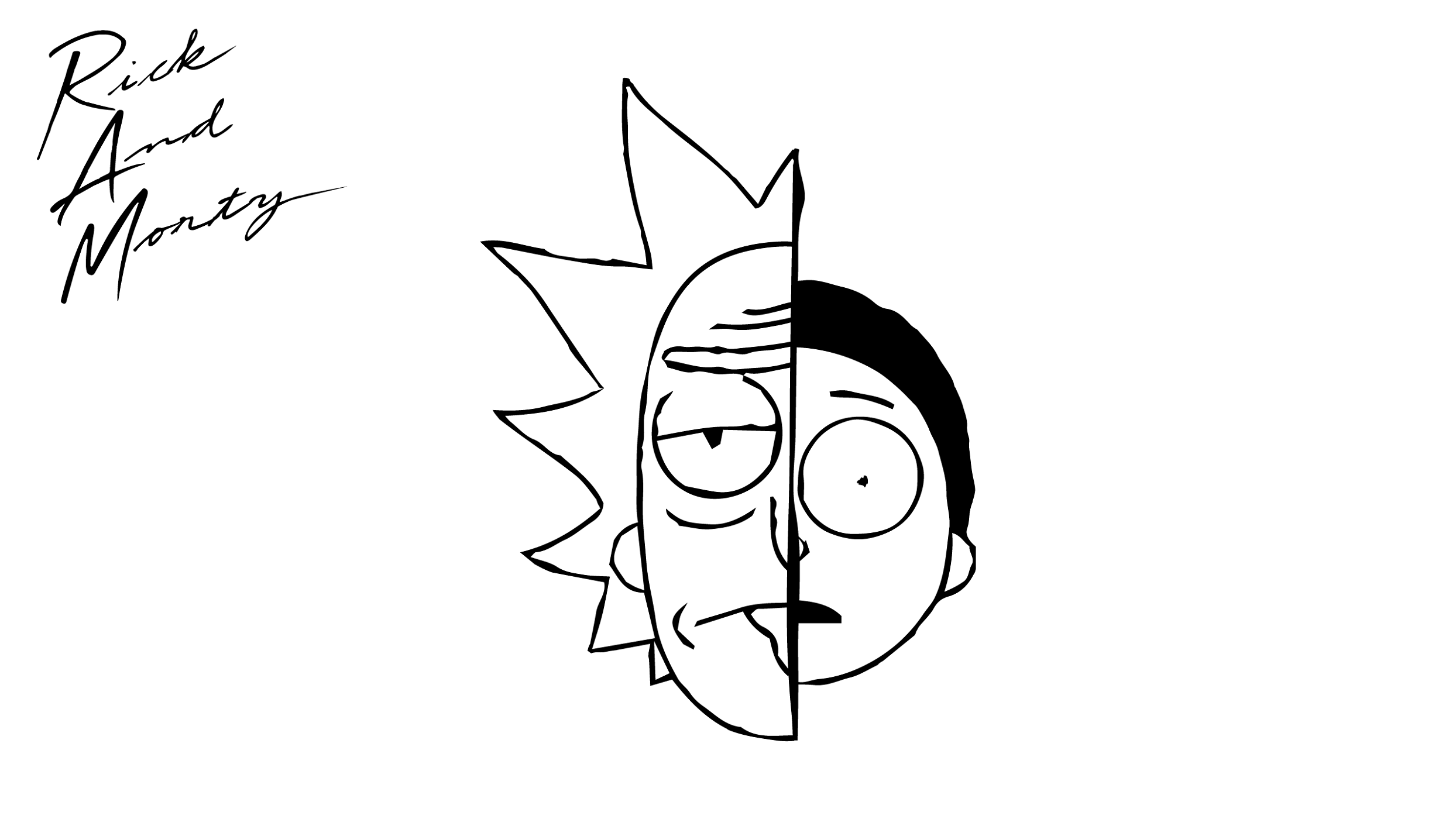Rick and Morty Coloring Pages Coloring pages, Coloring