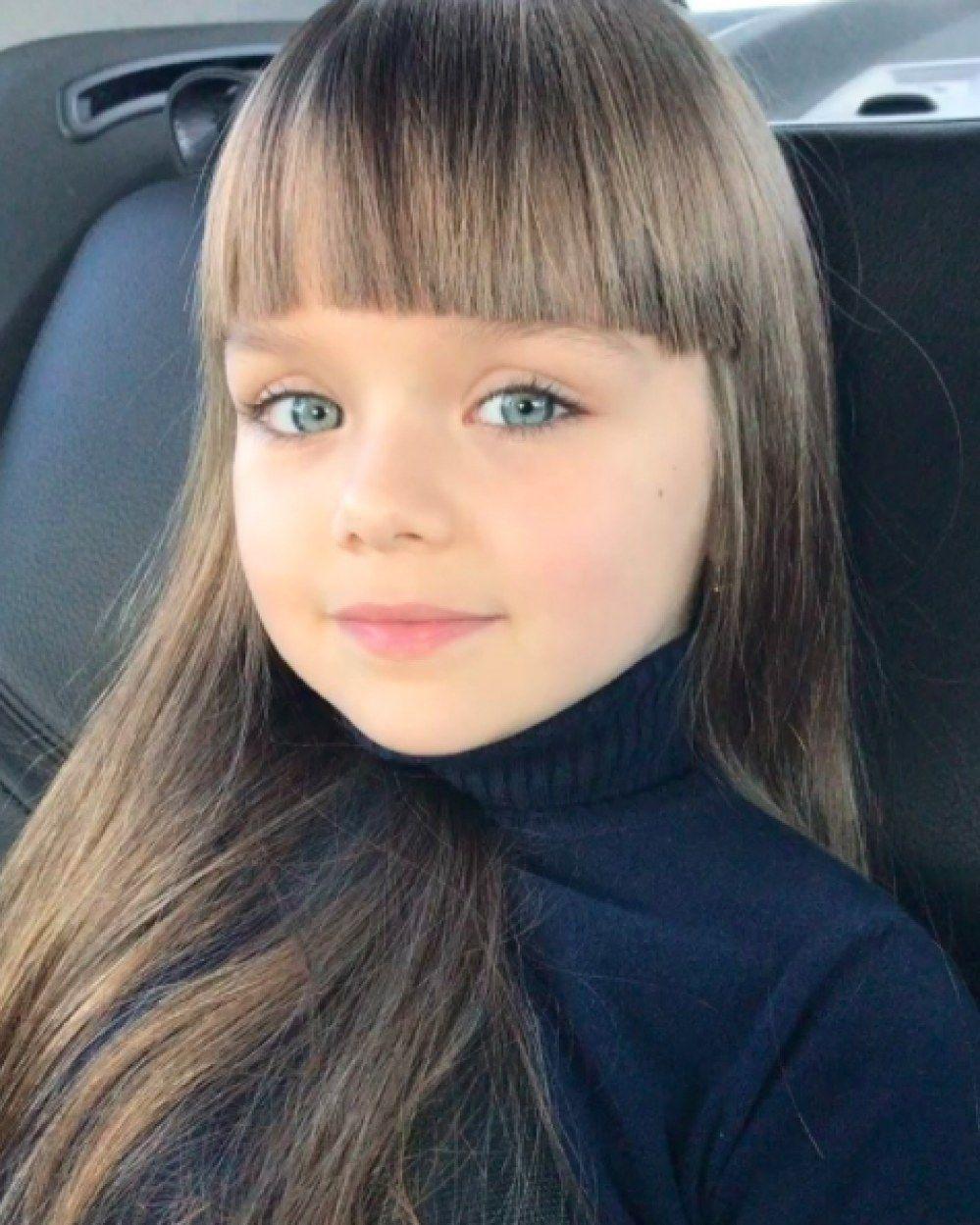 """Voici Anastasiya, la nouvelle """"plus belle petite fille du"""