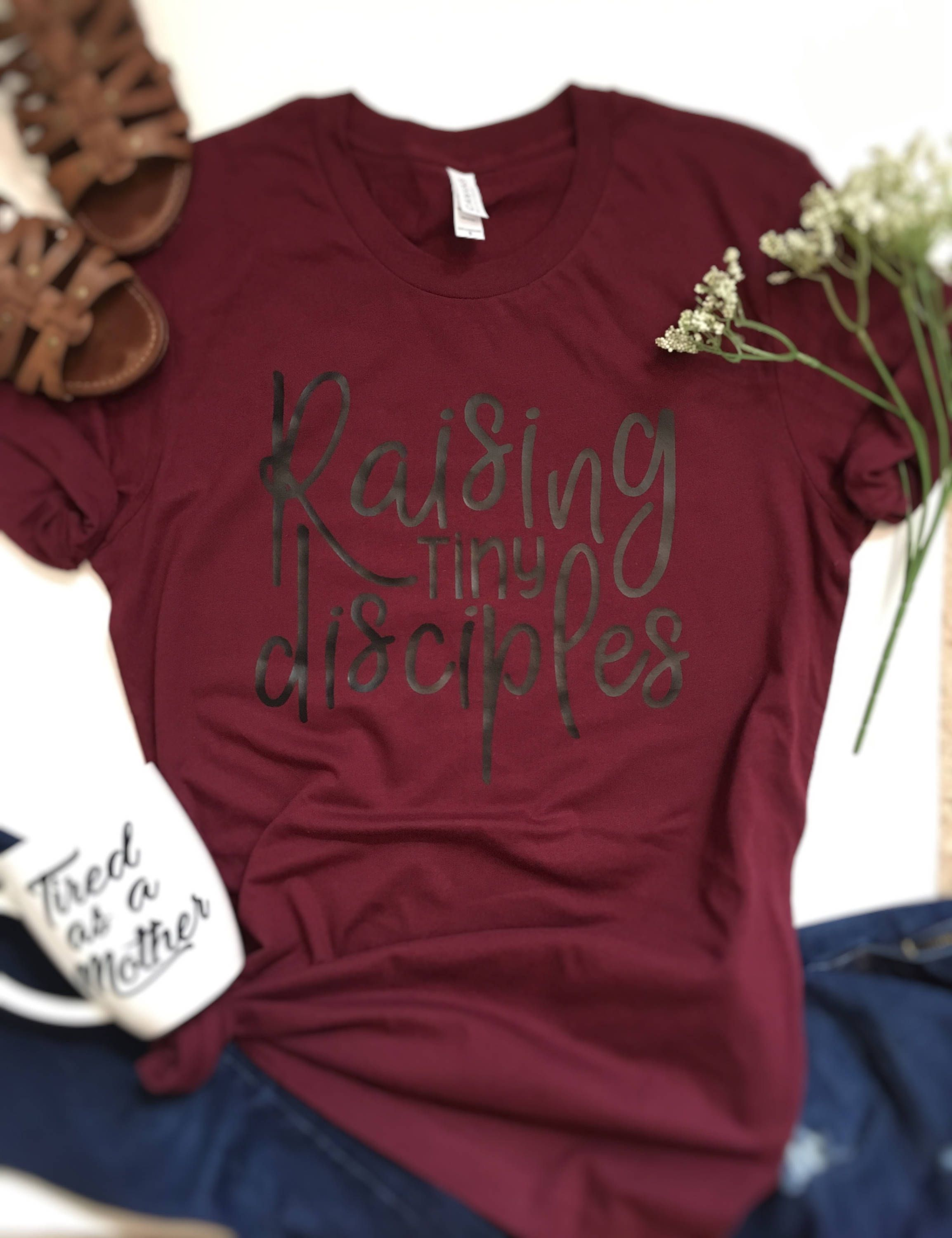 innovative design outlet online search for official raising disciples christian shirt, funny shirt sayings, mom ...