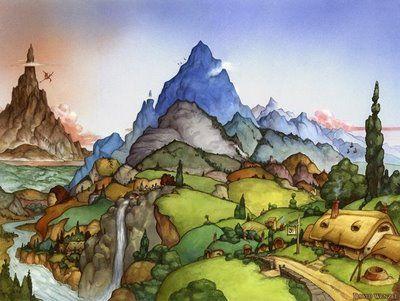 Art for The Hobbit. :)