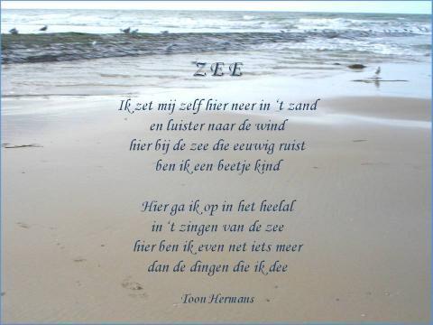 Citaten Zee : De zee van toon hermans poëzie teksten citaten mooie gedichten