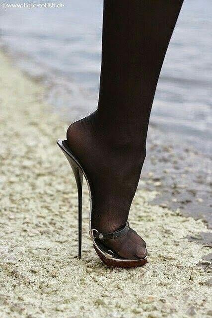 High Heels Standing Anal