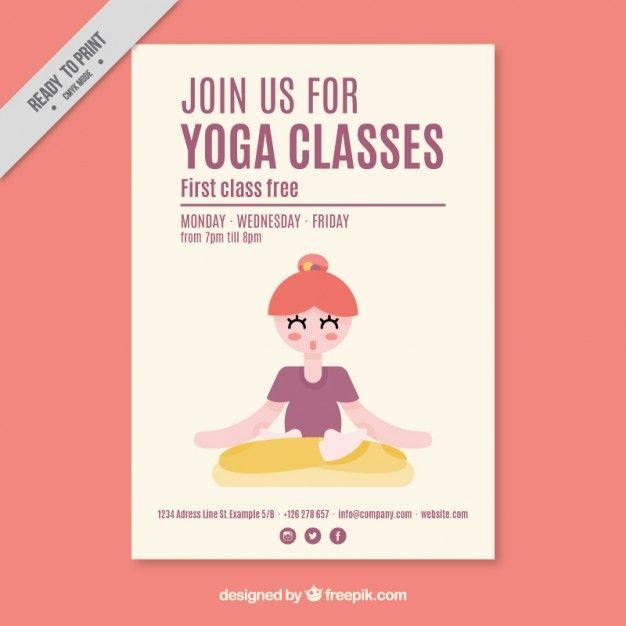 Bildergebnis Fr Flyer Yoga Studio  Yoga Flyer