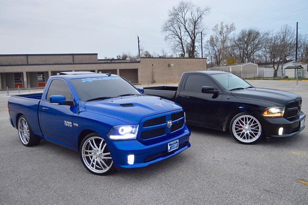 2 Sick Rams Dodgeloyalty Dodge Trucks Dodge Trucks Ram Single